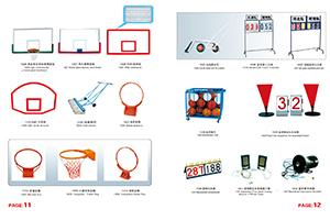 篮板、篮圈